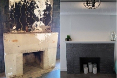 Fire-place-Before-and-After